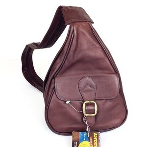 Wilson Leather Sling Bag / Backpack NWT@